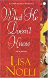 img - for What He Doesn't Know (Zebra Regency Romance) book / textbook / text book