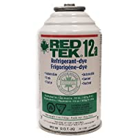 3 Cans - RED TEK R12a Refrigerant (6 Oz. Can) Freon Replacement from Thermofluid Technologies