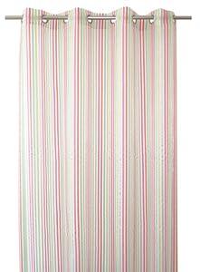 Bel Air Blues 0199993 0003 Multi Coloured Striped Hemmed