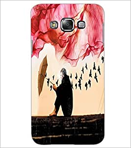 PrintDhaba Creative Image D-4027 Back Case Cover for SAMSUNG GALAXY A7 (Multi-Coloured)
