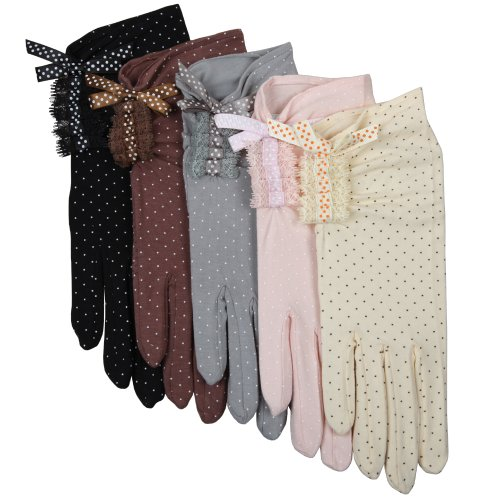 Warmen Sexy Lace Uv Protection Sun Block Dressing Driving Touchscreen Gloves for Iphone Ipad Smartphone