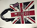 Jack wills brightwell Union jack bookbag