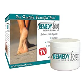 Remedy Foot Repair Dry & Cracked Heels Penetrates Deep the Epidermis to Soften Callouses and Combat Fungal Infections