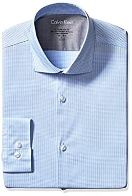 Calvin Klein Men's Xtreme Slim Fit Check Shirt