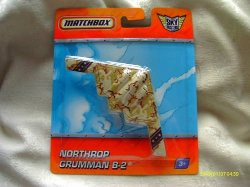 Matchbox Skybusters Northrop Grumman B-2 Brown Camouflage