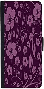 Snoogg Seamless Floral Pattern Abstract Background Designer Protective Phone Flip Case Cover For Obi Worldphone Sf1
