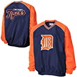 Detroit Tigers MLB Mens Double Play Pullover V-Neck Jacket by G-III Sports