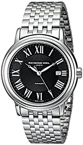 Raymond Weil Men's 2847-ST-00209 Maestro Analog Display Swiss Automatic Silver Watch
