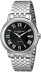 Raymond Weil Men's 2847-ST-00209 Maestro Analog Display Swiss Automatic Silver Watch