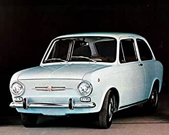 Amazon.com: 1968 Fiat 850 Factory Photo: Entertainment Collectibles