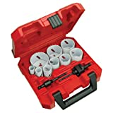 MILWAUKEE ELEC TOOL 49-22-4025 13Pc Ice Hole Saw Kit, (Color: Multi, Tamaño: Pack of 1)