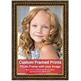 Averprint Photo Frame Personalized Picture Frame With Custom Photo / Your Image Print 12x18 Inch (30x45 Cm Framed)