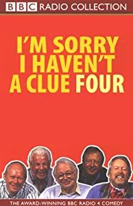 I'm Sorry I Haven't a Clue, Volume 4 Radio/TV Program