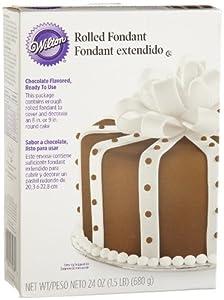Wilton Rolled Fondant, Chocolate