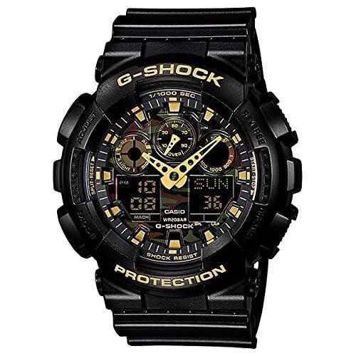 [カシオ] CASIO 腕時計 G-SHOCK ジーショック SPECIAL スペシャル Camouflage Dial カモフラージュダイアル GA-100CF-1A9ER メンズ [逆輸入]