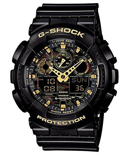 [CASIO] CASIO watches g-shock 'special Camouflage Dial SPECIAL camouflage dial-GA-100CF-1 A9ER men [reverse]