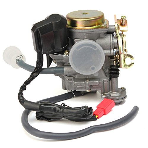 Scooter Carburetor 49cc 50cc 4 Stroke GY6 Engine with Jet Upgrades (2 Stroke 18 Mm Carburetor compare prices)