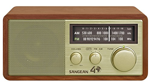 Sangean WR-11SE AM/FM Table Top Radio 40th Anniversary Edition (Tabletop Am Fm Radio compare prices)