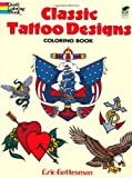 51HFrfPgXwL. SL160  Classic Tattoo Designs Coloring Book