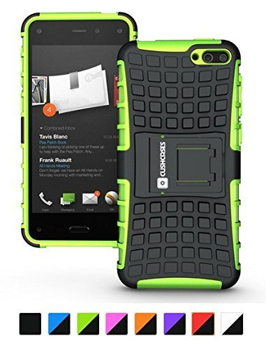 Cush Cases Extinguisher Series Heavy Duty Cover Case for Amazon Fire Smartphone (Green)