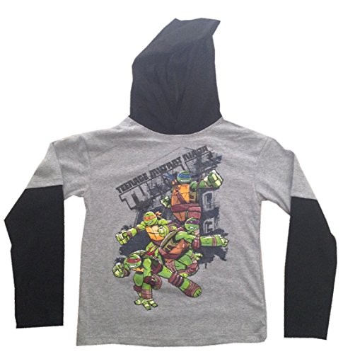 TEENAGE MUTANT NINJA TURTLES - Full Action - Hooded Kids T-shirt