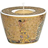Gustav Klimt Porcelain Tealight Candle Holder - Expectation / Fulfilment