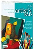 PACK OF 3 A4 Spiral Artists Pads