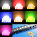 140 pcs SMD SMT 0603 Super bright LED Blue Red White Green Orange Yellow Pink 20pcs each color