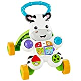 Fisher-Price Learn with Me Zebra Walker (Deluxe Colors, Lights & Phrases)