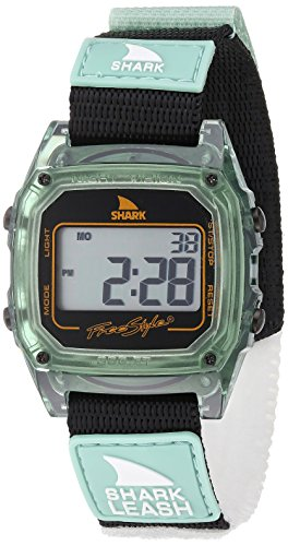 Freestyle Unisex 10027029 Shark Leash Digital Display Japanese Quartz Green Watch (Shark Freestyle Watches compare prices)