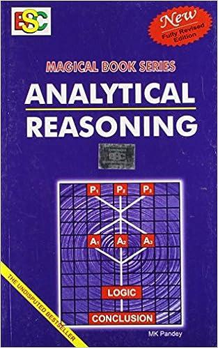 Analytical Reasoning for SBI PO 2017