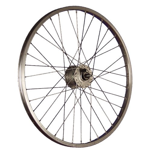 Taylor Wheels 24 Zoll Vorderrad Büchel Aluminiumfelge Shimano Dynamo DH-3N31