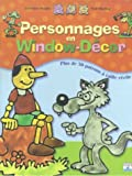 Personnages en window dcor