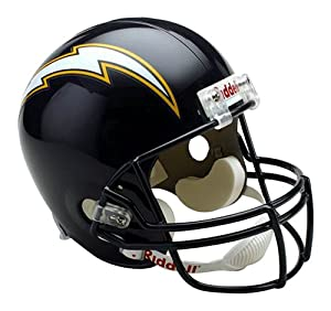 Riddell San Diego Chargers 1988-2006 Classic Throwback Deluxe Replica Football Helmet by Riddell