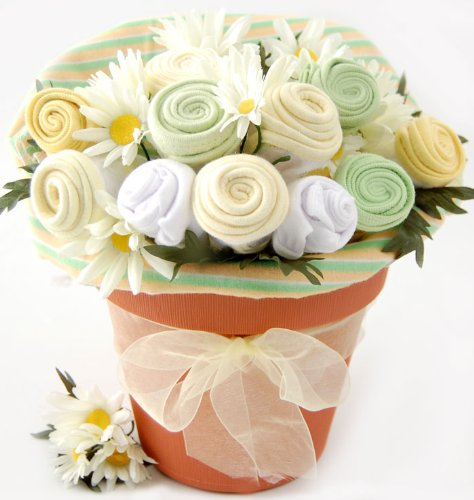 Nikki's Baby Blossom Clothing Gift Bouquet -