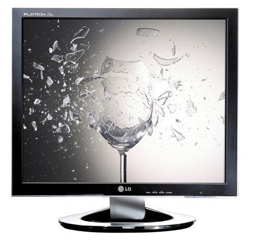 Lg Flatron L1981Q Ultra-Slim 19-Inch Lcd Monitor