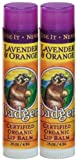 Badger Balm Organic Lavender Orange Lip Care Stick 4.2 g
