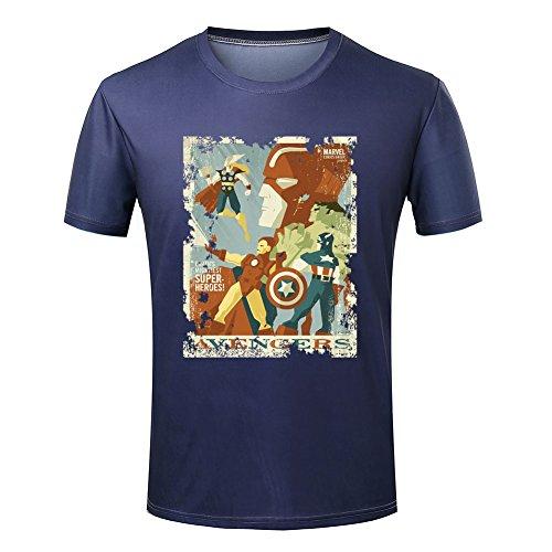 para-hombre-comics-super-heroes-equipo-los-vengadores-casual-t-shirt-multicolor-e-x-large