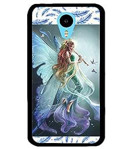 ColourCraft Beautiful Angel Design Back Case Cover for MEIZU M1 NOTE