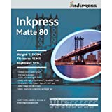 Inkpress PP80121250 Commercial Duo Matte Inkjet Paper 80 New Stock 12in. X 12in. 50 Sheets