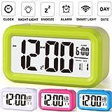 Electro-mechanical Plastic Digital Alarm Clock (13 Cm X 8 Cm)-assorted color