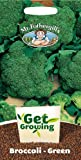 Mr. Fothergill's 21333 50 Count Get Growing Calabrese Monterey F1 Green Broccoli Seed