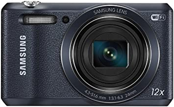 Samsung WB35F smart camera, 16 Megapixel, Zoom ottico 12x, display 2.7 pollici, Nero