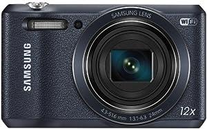Samsung WB35F Smart-Digitalkamera (16 Megapixel, 12-fach opt. Zoom, 6,8 cm (2,7 Zoll) Display) schwarz