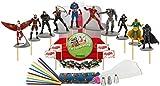 Marvel's Avengers Captain America: Civil War Deluxe Cake / Cupcake Topper Decorating Kit