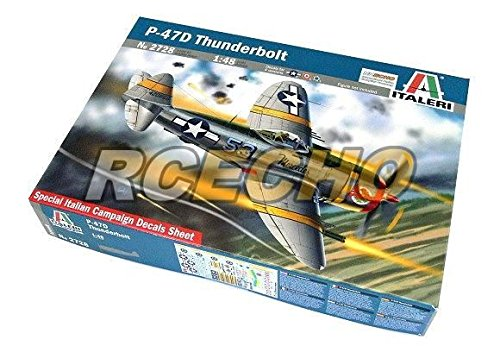 RCECHO-ITALERI-Aircraft-Model-148-P-47D-Thunderbolt-Scale-Hobby-2728-T2728-with-RCECHO-Full-Version-Apps-Edition