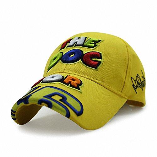 Moto.Gp vr46 Valentino Rossi Color Letter Embroidery Hat (Williams Formula 1 compare prices)