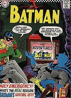 Batman Watching TV