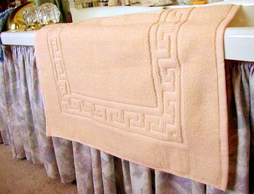 Marrikas Egyptian Cotton Bath Mat Or Shower Mat Peach Orange Bathroom Rug Shop