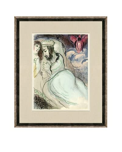 Marc Chagall: Sara And Abimelech As You See